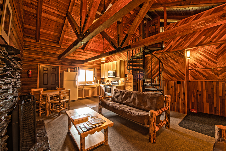 Cabin Living Room Lodging