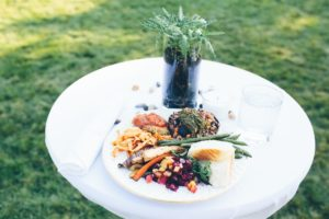 Wedding Food Outdoors