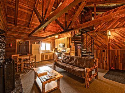 Cabin Living Room Lodging
